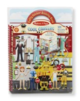Cool Careers, Puffy Sticker Activity Book