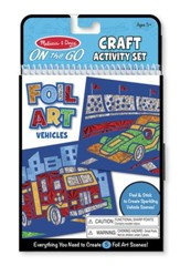 Vehicles, Foil Art Kit