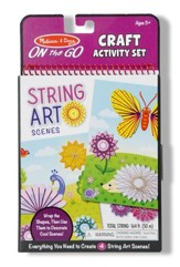 String Art Scenes Activity On-the-Go Set