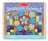 Sparkling Flowers Wooden Bead Activity Set