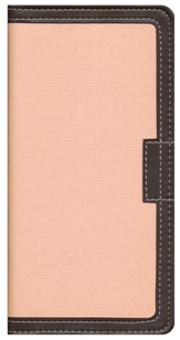 NIV Italian Duo-Tone, Pink & Chocolate, Bible Clutch  1984
