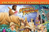 Heavenly Treasure VBS Post Card, Package of 50