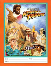 Heavenly Treasure VBS Flyers, Package of 50