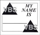 Heavenly Treasure VBS Name Tags, Package of 50