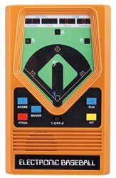 Electronic Baseball Hand Held Game
