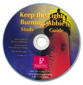 Keep the Lights Burning, Abbie Study Guide on CDROM