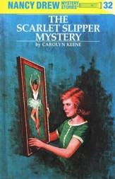 The Scarlet Slipper Mystery, Nancy Drew Mystery Stories Series #32