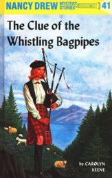 The Clue of the Whistling Bagpipes, Nancy Drew Mystery Stories Series #41