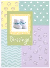 Blessings! (CD New Baby Greeting Card)