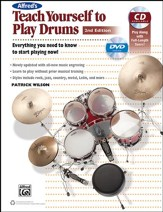 Teach Yourself Drums 2nd Edition/Book, CD & DVD - Slightly Imperfect