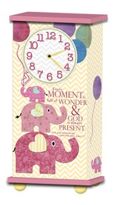 Treasured Times Clock, Every Moment Is Full Of Wonder, Girl