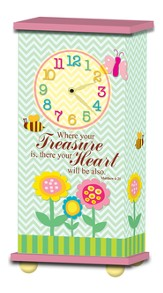 Treasured Times Clock, Where Your Treasure Is