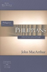 Philippians, John MacArthur Study Guides - Slightly Imperfect