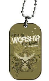 Live to Worship Tag