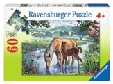 Mother and Foal, 60 Piece Puzzle
