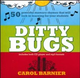 Ditty Bugs CD: 50 Powerful Memory Rhymes that Will Lock in Learning for your Students