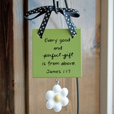 Every Good and Perfect Gift Mini Plaque