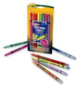 Crayola, Twistables Extreme Colors, 8 Pieces