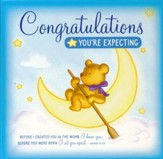 Congratulations You're Expecting Greeting Card/CD: Tender Instrumental Hymns and Bible Songs
