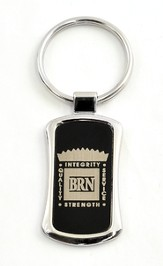 Bott Radio Network Keychain, Black