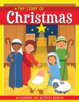 The Story of Christmas: Coloring and Activity Book