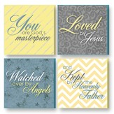 Treasured Times Plaques, You Are God's Masterpiece, Blue