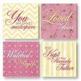 Treasured Times Plaques, You Are God's Masterpiece, Pink