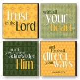 Treasured Times Plaques, Trust In the Lord