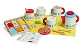Steep and Serve Wooden Tea Play Set