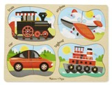 4-In-1 Vehicles Puzzle
