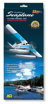 Blue Wing Sea Plane