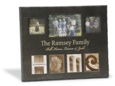Personalized, Home Photo, Black, Large