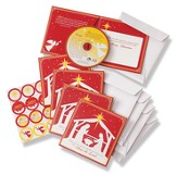 CD Christmas Greeting Cards (5 Pack)