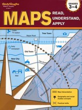 Maps: Read, Understand, Apply Grades 3-4