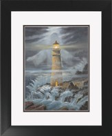 Light In the Storm Framed Print