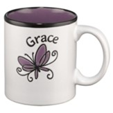 Grace Butterfly Mug - Slightly Imperfect