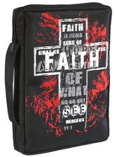 Faith Microfiber Bible Cover