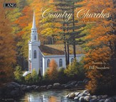 2014 Country Churches Wall Calendar
