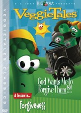 God Wants Me to Forgive Them?!? Classic VeggieTales DVD, Reissued