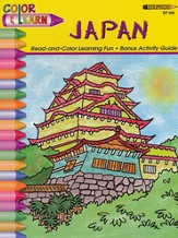 Around the World Color and Learn - Japan
