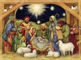 Nativity, Adore Him Christmas Cards, Box of 18