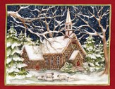 Stone Church Christmas Cards, Box of 18