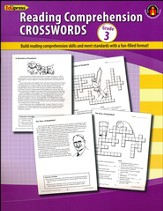 Grade 3 Comprehension Crosswords