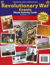Revolutionary War Events Photo Activity Cards