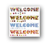 Seasonal Welcome Bulletin Board