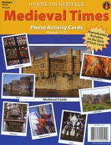 Medieval Times Photo Activity Cards