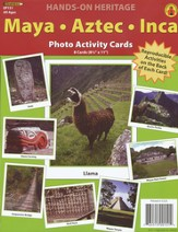 Maya, Aztec, Inca Photo Activity Cards