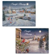 Meadowlands Church Assorted Christmas Cards, Box of 18