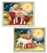 The Lord Is My Shepherd Assorted Christmas Cards, Box of 18