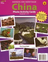 China Photo Activity Cards